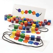 Large Colored Beads And Patterns