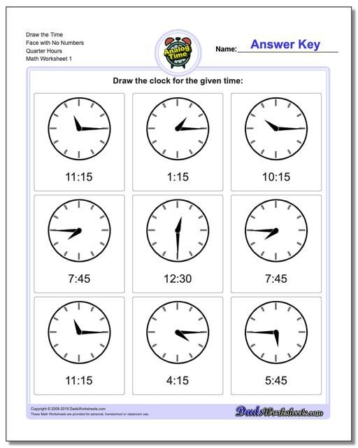 Telling Analog Time Worksheets Click Through To Print These And Thousands Of Other Free Math Workshee Time Worksheets Clock Worksheets Telling Time Worksheets Free printable math worksheets telling