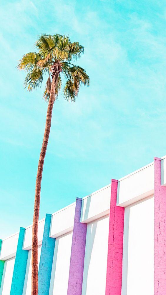 Palms Springs iPhone wallpaper: