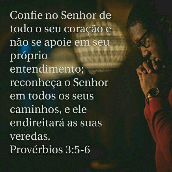 Provérbios 3:5-7