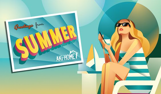 #Summer at #AkiHome