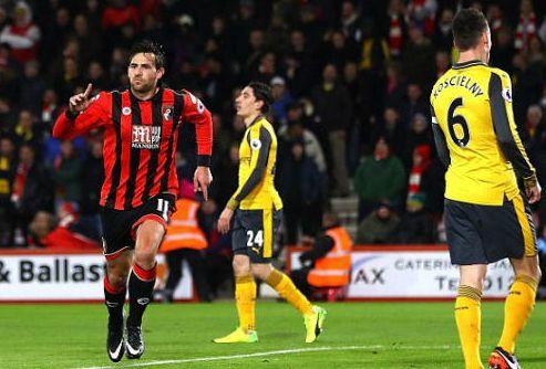 Bournemouth - Arsenal. Ngược Dòng Đẳng Cấp: