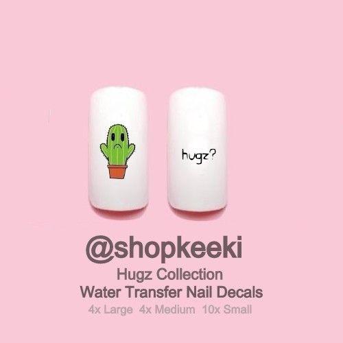 Hugz Nail Decals