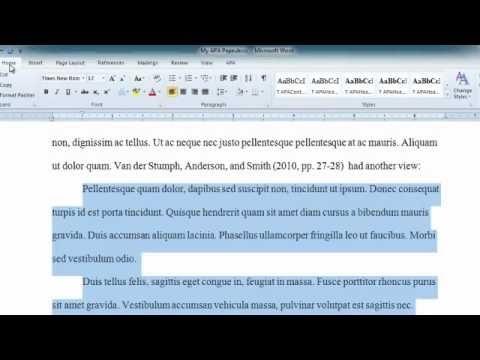 Apa Long Quote In Word 2010 Longing Be An Example Quotation Format Proper Way To Insert A Essay