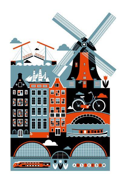 Amsterdam by Koivo