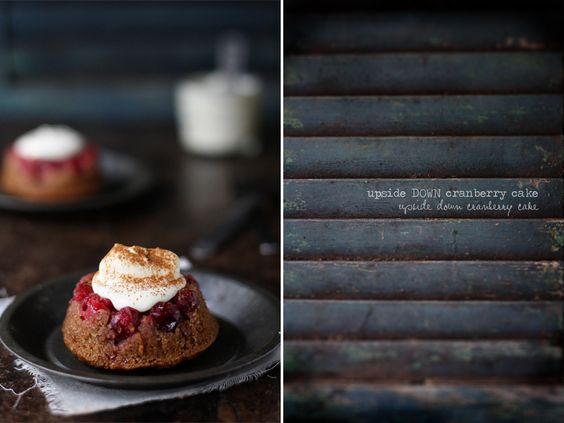 Cranberry & Almond Upside Down Cakes - Roost - Roost: A Simple Life
