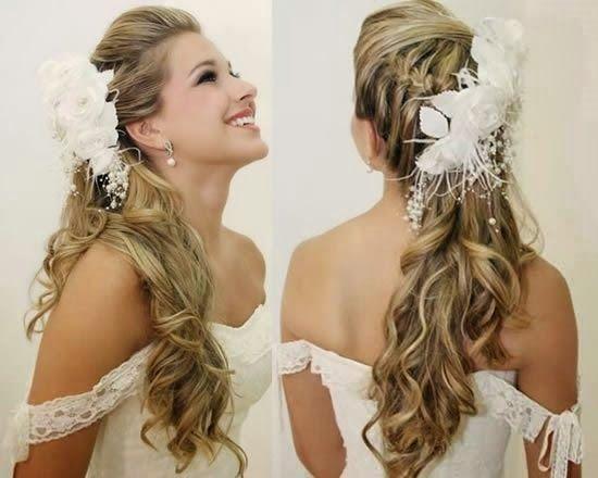 flor cabelo penteado noiva - Pesquisa Google
