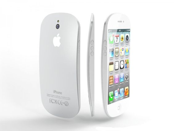 This is the new iPhone 6, it looks so cool but like a mouse for your laptop