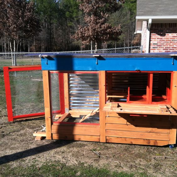 Our chicken coop!