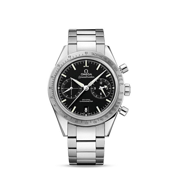 Speedmaster Speedmaster '57 Omega Co-Axial Chronograph 41.5 mm - ref. 331.10.42.51.01.001 : The OMEGA Speedmaster is one of OMEGA's most iconic timepieces. Having been a part of all six lunar missions, the legendary Speedmaster is an impressive representation of the brand's adventurous...