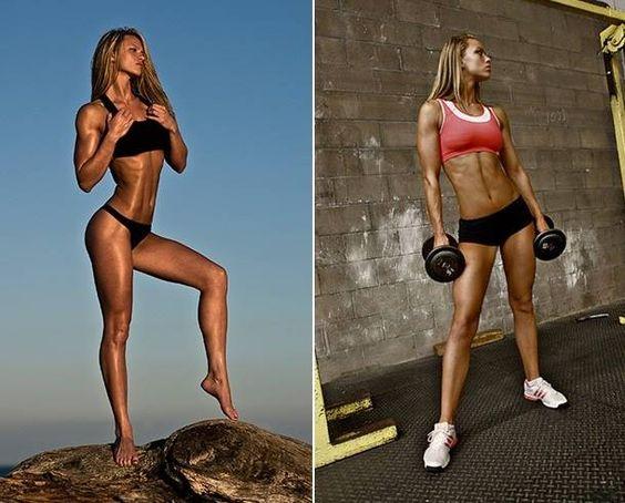 IFBB Bikini Pro & Fitness Model Tabitha Klausen-Leandri Talks With Simplyshredded.com   SimplyShredded.com