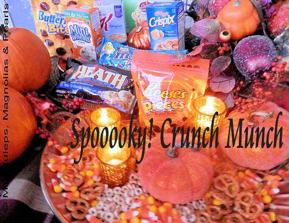 Spooooky! Crunch Munch:
