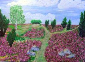 heide painting image