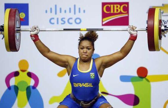 Levantamento de peso - feminino  - BRASIL - RIO 2016 -  Jaqueline Ferreira (75kg)  Rosane Reis (53kg)