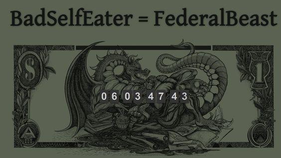 BadSelfEater = FederalBeast Countdown - What is it? & Symbolic Decode
