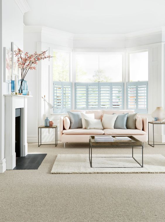 Bay window solutions: blinds, curtains and shutters | Bays ...