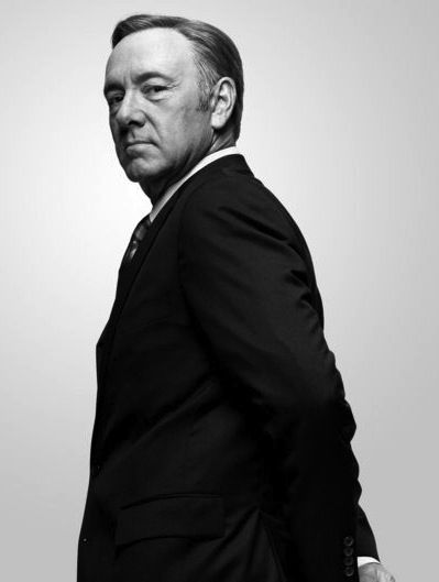 Kevin Spacey as Francis Underwood // for political discussions (House of Cards / Netflix)