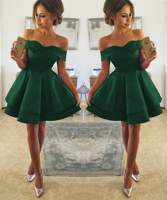 short green prom dress,petite girls