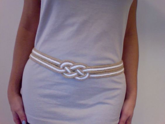 DIY Sailors Belt.