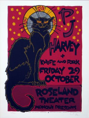 newburycomics.com - PJ Harvey-Poster by Gary HoustonPosters