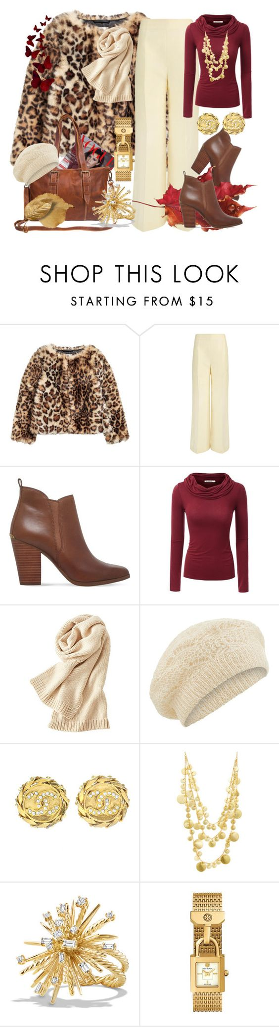 """GIVEAWAY WITH MAHI Leather"" by patkova-v ❤ liked on Polyvore featuring Victoria Beckham, MICHAEL Michael Kors, Doublju, Uniqlo, Accessorize, Chanel, Ashiana, David Yurman and Tory Burch"
