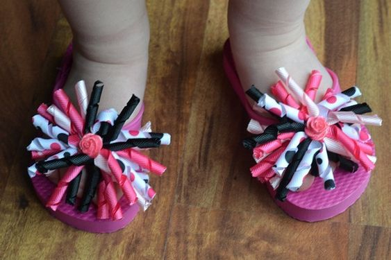 interchangeable Flip flop deco