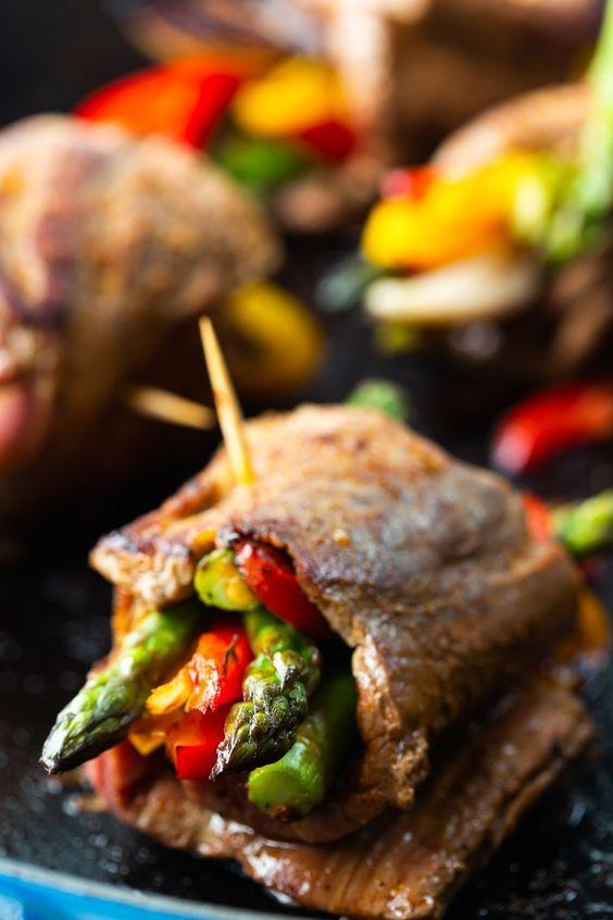 Steak Fajitas Roll Ups