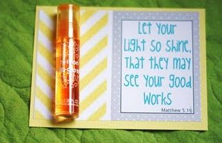 .Let your light shine