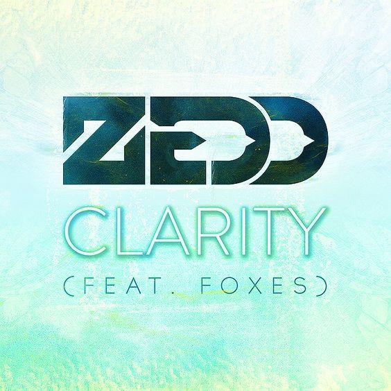 Zedd, Foxes – Clarity (single cover art)