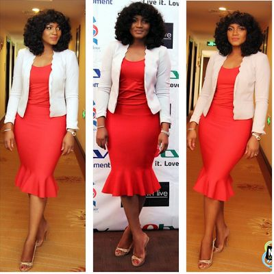Omotola Stuns at Her Press Conference (Photos)  Omotola Stuns at Her Press Conference (Photos)