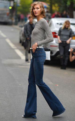 10 ultra coole manieren om je flared jeans te dragen - Fashionscene.nl: