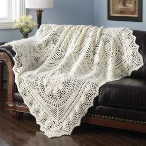 CROCHET PINEAPPLE AFGHAN FREE PATTERN
