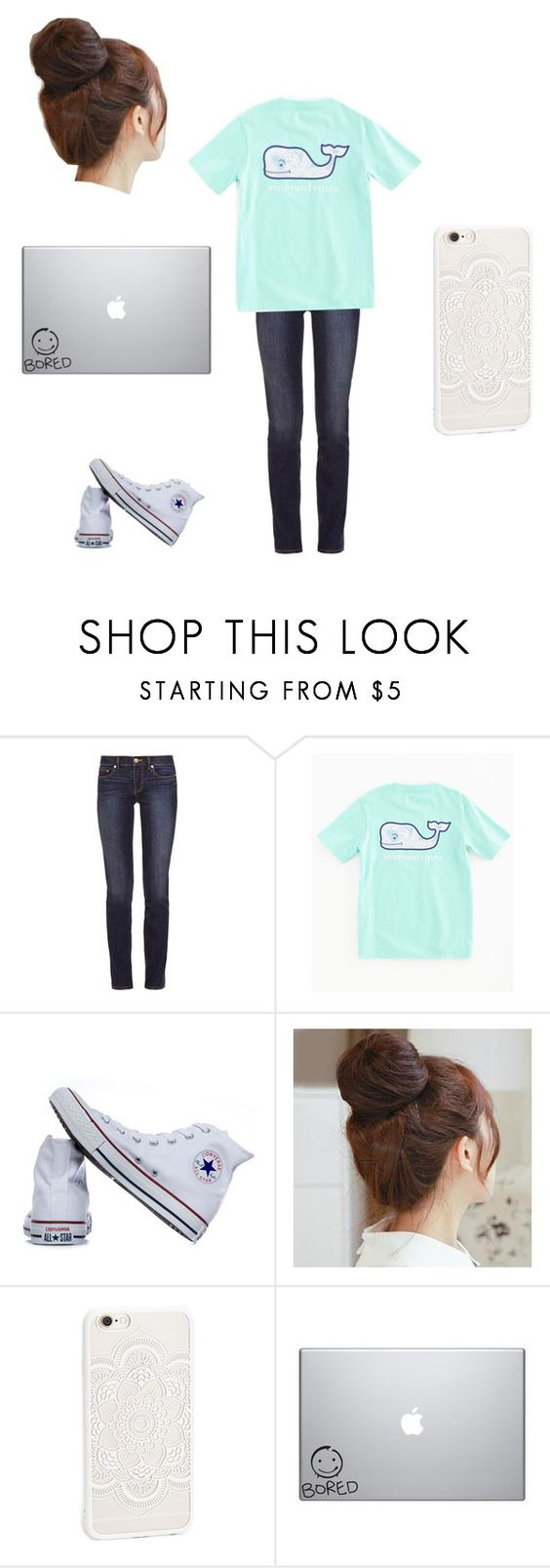 """""""Untitled #208"""" by a-hidden-secret ❤ liked on Polyvore featuring Tory Burch, Vineyard Vines, Converse and Pin Show"""