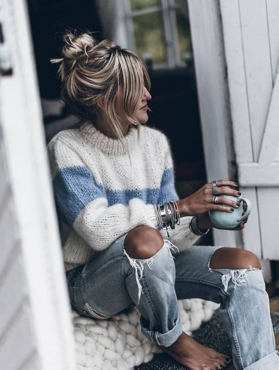 2019 Latest Sweater Outfits for Fall