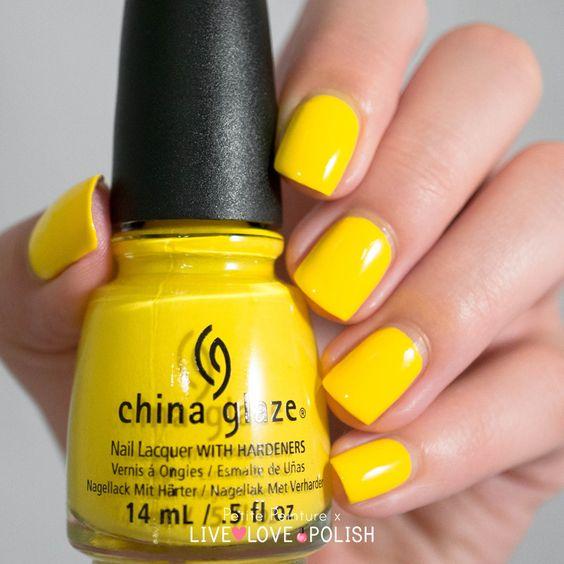 Live Love Polish China Glaze Happy Go Lucky Petite Peinture Swatch available at www.livelovepolish.com #nails #nailpolish