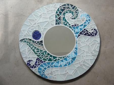 Pinterest el cat logo global de ideas for Mosaicos para espejos