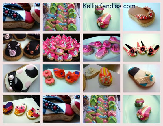 A few of our designer cookies.  kelliekandies.com