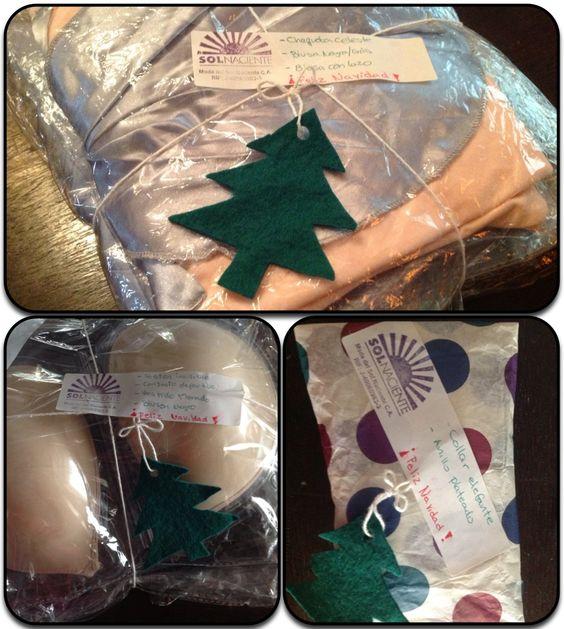 Así salieron nuestro paquetes en navidad =)  #Holiday #Packing #Tarjeta #Card