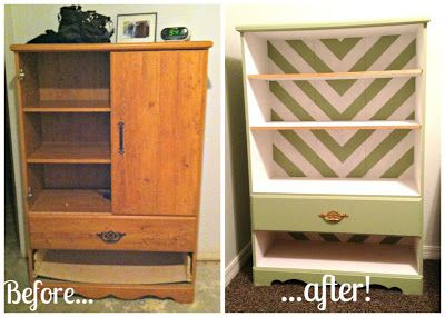 Funky Armoire DIY Makeover { Funky like Fuuugly }