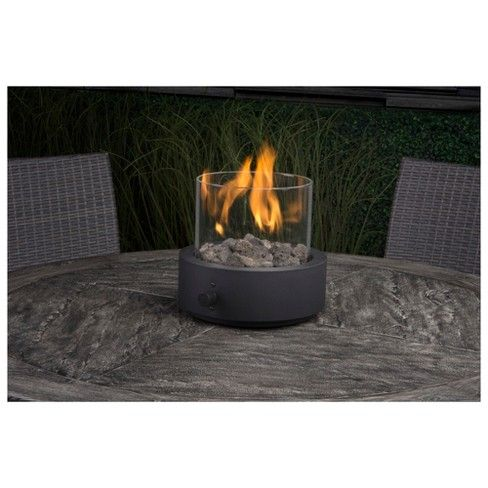 This Beautiful Two Harbors Round Tabletop Fire Pit From Project