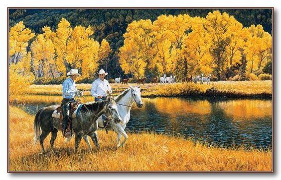 Tim Cox - Western Art  Better Than Gold