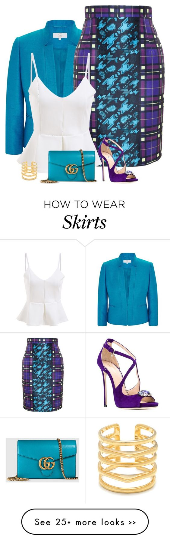"""statement skirt"" by divacrafts on Polyvore"