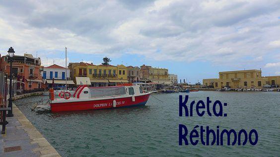 Ein #Spaziergang durch #Réthimno auf #Kreta - entlang am venezianischen Hafen http://www.namida-magazin.de/2016/01/kreta-ein-spaziergang-durch-rethimno.html
