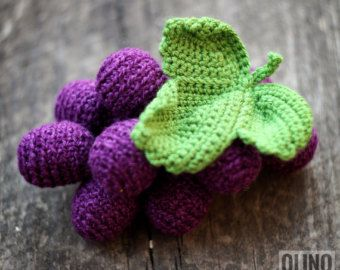 PLUM Crochet Pattern PDF  Crochet plum pattern by OlinoHobby: