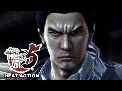 Yakuza 5 / Ryu Ga Gotoku 5 Heat Action Compilation - Kiryu