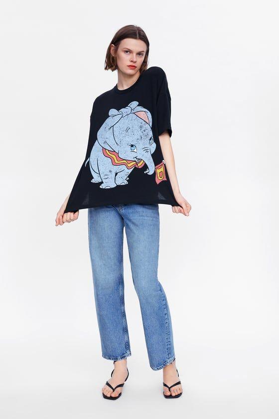 Disney Womens Classic Dumbo T-Shirt