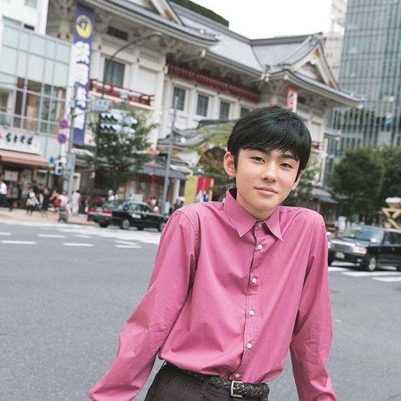 シャツが似合う八代目市川染五郎のかっこいい画像