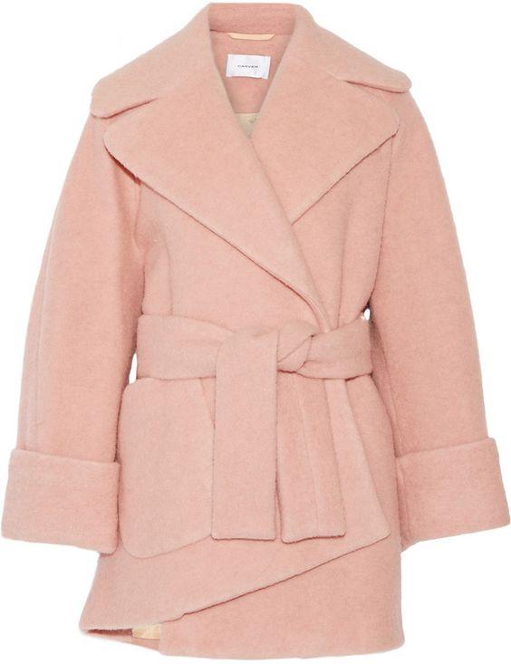 Pink Carven Coat