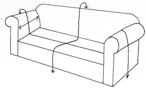 Como realizar fundas para un sill n fundas pinterest - Como tapizar un sillon ...