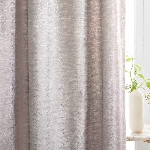 Echo Print Curtains Set Of 2 Gold Dust Curtains Curtain